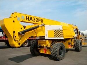 Plataforma elevadora articulada diesel 32 metros Haulotte HA32 PX