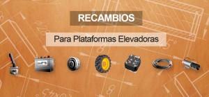 Recambios para plataformas elevadoras