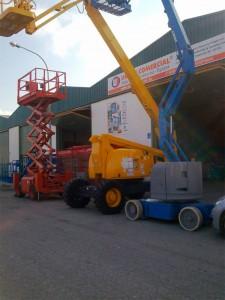 Plataforma elevadora articulada diesel 20 metros – Haulotte HA20 PX